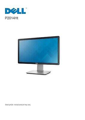 Dell P2014Ht 20″ Anti-Glare LED-LCD IPS Monitor, 1600 x 900