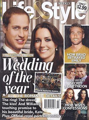 PRINCE WILLIAM KATE MIDDLETON THE ROYAL WEDDING LIFE & STYLE 2011 (Prince William Style)