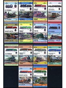 LMS - LONDON MIDLAND & SCOTTISH RAILWAY Collection GB Train Stamps (Loco 100)