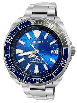 Seiko Prospex Automatic SRPD23 Blue Date Dial Silver Steel Bracelet Watch