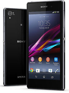 New Sony XPERIA Z1 C6903 Quad 20.7MP 4G LTE (FACTORY UNLOCKED) 16GB Black Phone