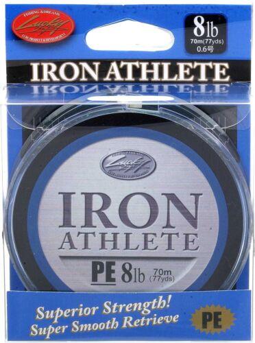8lb 77yds LUCKY CRAFT Iron Athlete PE Braided Line