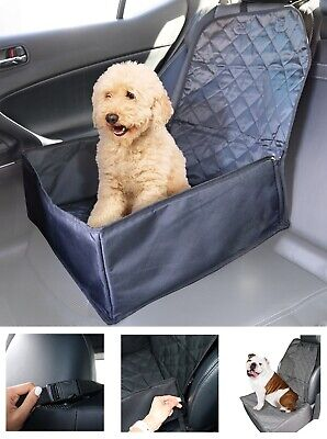 Pet Booster Car Seat and Cover 2 in 1 Auto Travel Carrier Mat Dog Cat Foldable