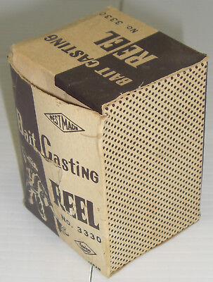 Vintage Taico Best Made Bait Casting Reel No. 3330 Rare (Best Bait Casting Reel)