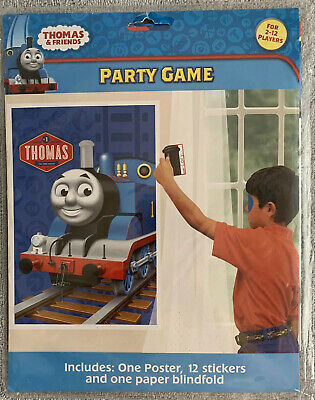 Thomas the Tank Engine Birthday Party Game 2-12 players Pin Steam Pipe on Train