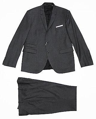 $1790 Italy NEIL BARRETT Slim-Lapel Suit Blazer Jacket Pants 52-IT 42-US X-Large