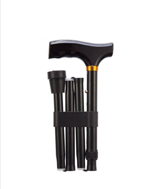 Coopers+Of+Stortford+adjustable+aluminum+folding+cane+walking+Stick+33%22-37%22