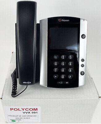 Polycom Vvx 501 Ip Phone 2201-48500-001 - Refurbished - Bulk