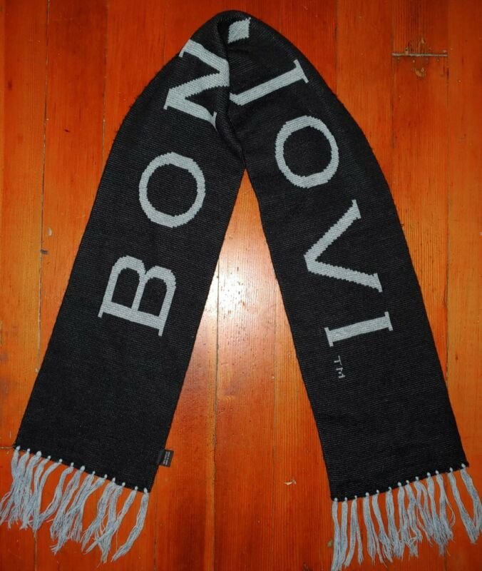 Bon Jovi Lost Highway Black/Gray Scarf A Must Have Buy it Before Gone SHIPS FAST