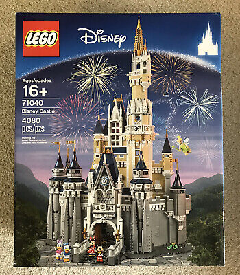 LEGO Disney Princess The Disney Castle (71040) With Bonus Easter Bunny Set, New