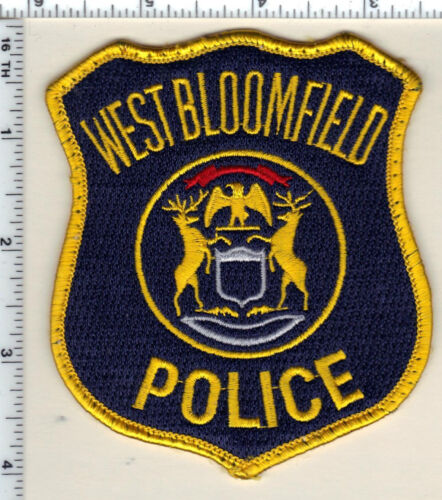 West Bloomfield Police (Michigan) Uniform Take-Off Shoulder Patch from 1993
