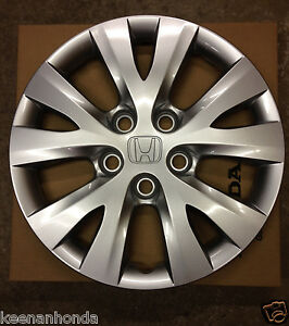 genuine honda civic 15 inch 5 lug bolt pattern wheel cover