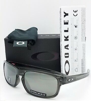 NEW Oakley Sliver Stealth sunglasses Grey Prizm Black Iridium 9409-03 AUTHENTIC (Stealth Sunglasses)