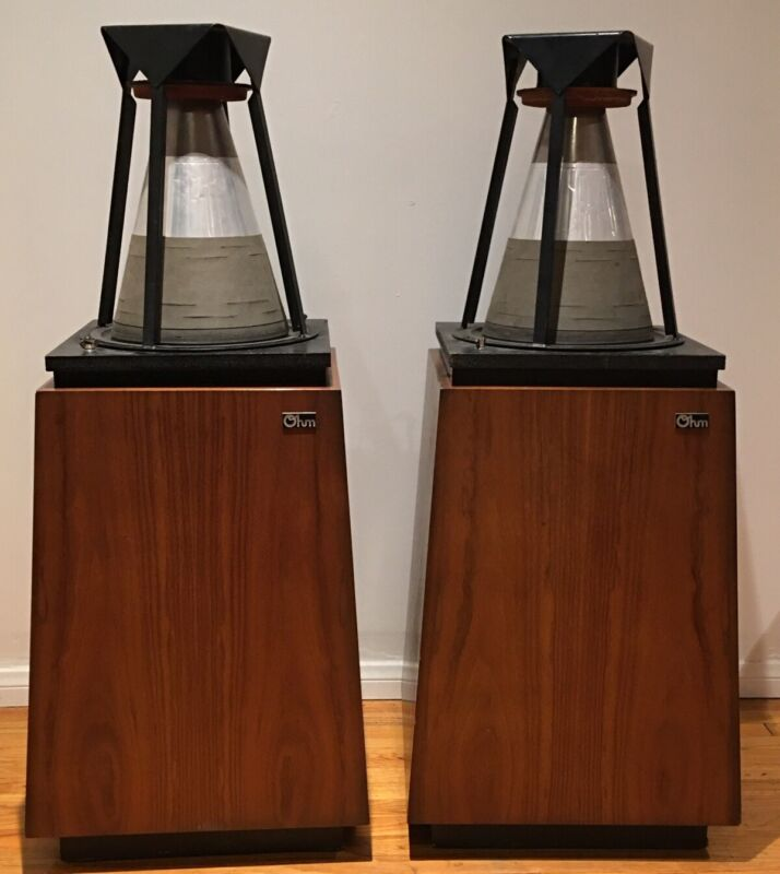 Lincoln Walsh Ohm F Loud Speakers