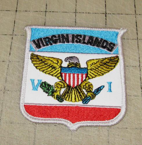 USVI United States Virgin Islands Souvenir Hat or Shoulder Patch - Unused