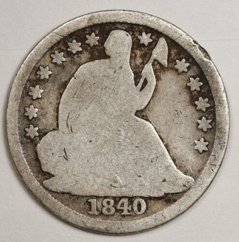 1840-o Liberty Seated Half Dime.  Circulated.  146045