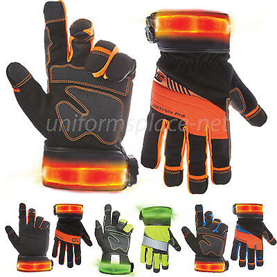 Custom Leathercraf Work Gloves Men Clc Safety Hi Viz Pro Winter Gloves