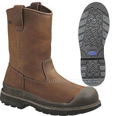 Wolverine Wellington Boots Mens Crawford Waterproof Steel-Toe 10