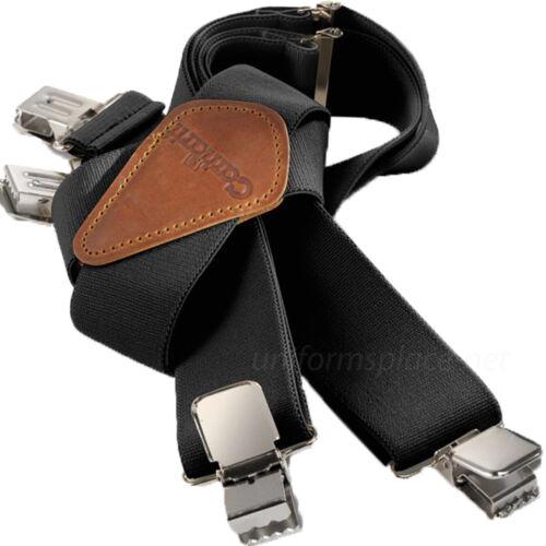 "Carhartt Utility Suspenders 2"" Adjustable Clip-on Work & Hunter Suspender Belt"