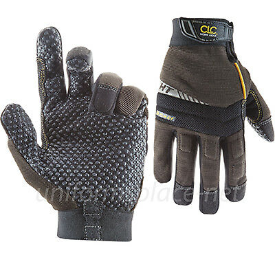 Clc Work Gloves Mens Flex Grip Boxer Stretch-fit Gloves 135