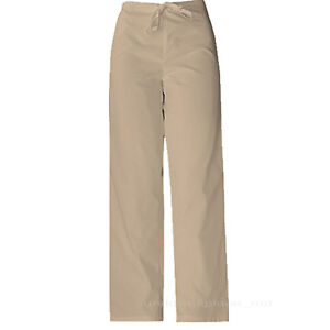 MEDICAL SCRUBS Dickies Unisex fit Men Women DRAWSTRING PANTS Back Pocket 850106