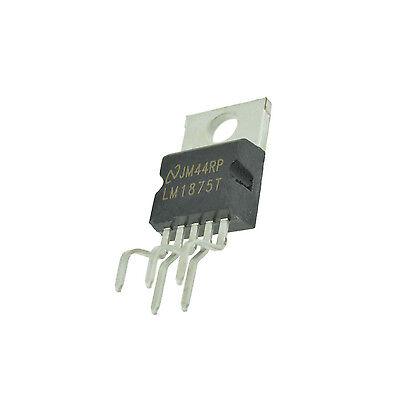 5 Pcs Ic Lm1875t Amp Audio Pwr 30w Ab To220-5 Ca