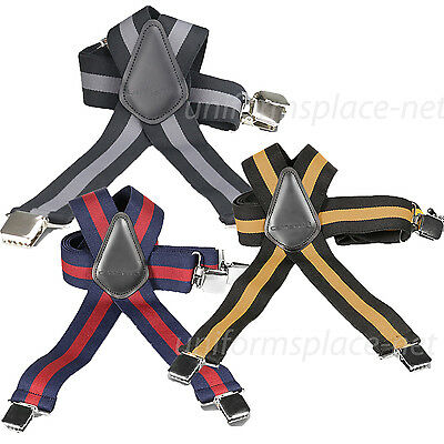 "Carhartt Utility Suspenders 2"" Adjustable Clip-on Work & Hun"