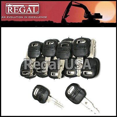 20 5p8500 Ignition Key Old Style For Caterpillar 5p-8500 0964753 0966198