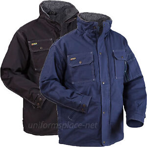 Blaklader Jacket Mens Toughguy Pile Lined Jackets Pockets