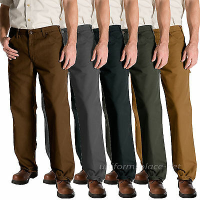 Dickies Work Jeans Mens Relaxed Fit Carpenter Duck Jean 1939 Cotton Pants 30-50 - Fit Work Jeans