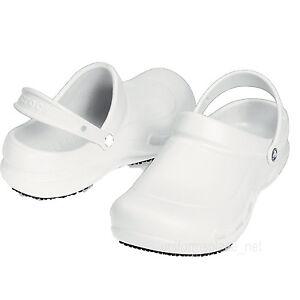 Crocs Work Shoes White