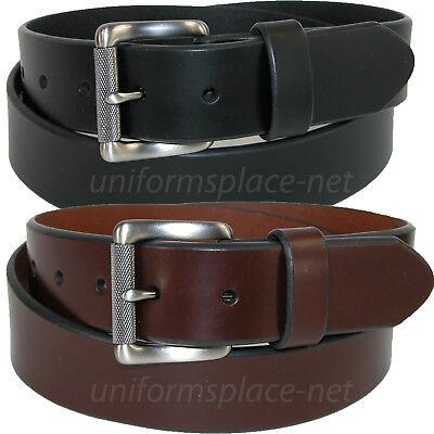 Dickies Leather Belt Mens 1 3/8