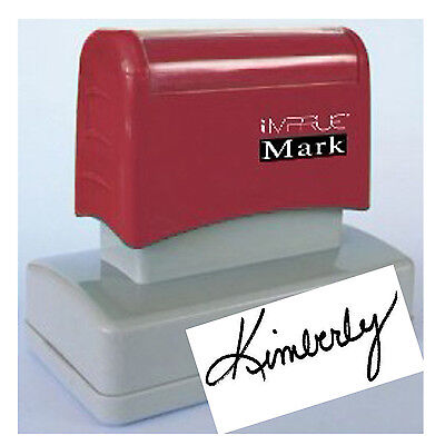 Signature - Custom Pre Ink Signature Stamp For Office Personal Use 20 X 60mm