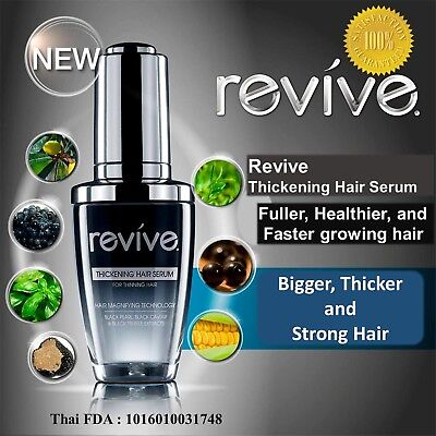 Revive Thickening Hair Serum scalp detox nourishing treatment Best for Men