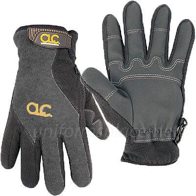 Clc Work Gloves Men Winter Fleece Lined Gloves W Reinforced Pvc Palm 2075