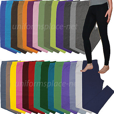 Leggings - Womens Leggings pants Stretch Long Pant Yoga, Gym, Workout Elastic Waist Legging