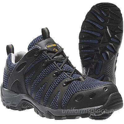 Amherst Shoe - Wolverine Shoes Mens Amherst Low Cut Composite Safety Toe EH Work Shoe W02300