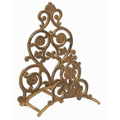 Hose Holder Water Garden Hose Wall Hanger Reel Made of Cast Iron Lawn Decor