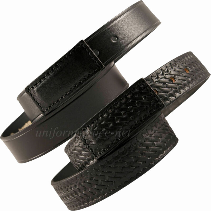 "Boston Leather Belt 1-1/2"" Mechanics & Movers Scratchless 6585 Black Usa Made"