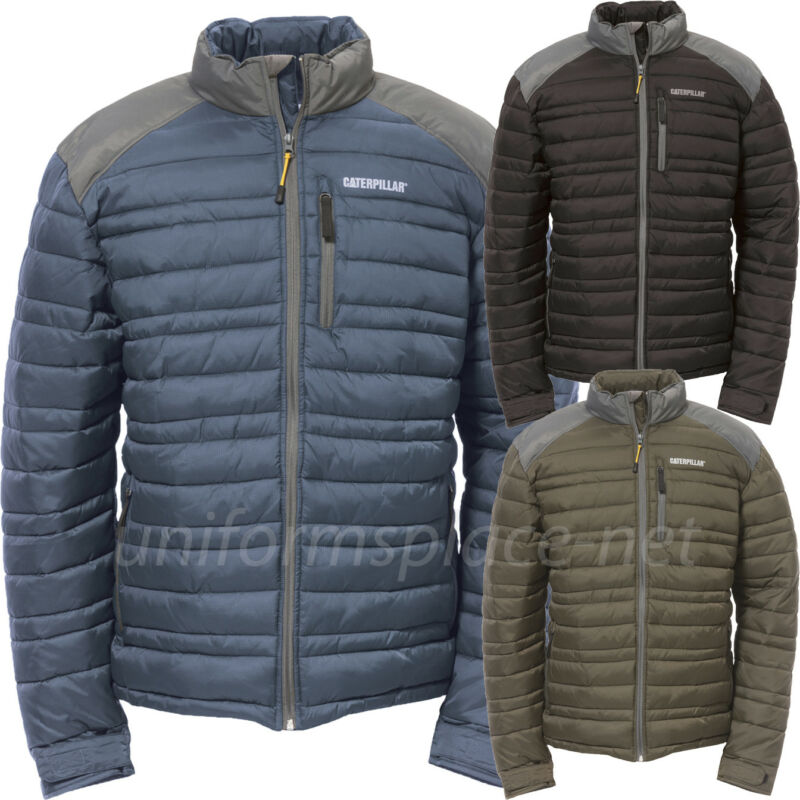 8ee2129c9 Caterpillar Jacket Mens CAT Insulated Defender Lined ripstop Jackets  1310014 фото