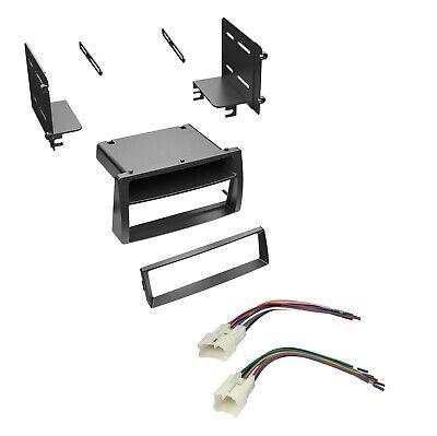 Car Stereo Dash Install Kit w/ Pocket & Female Harness 2003-2008 Toyota Corolla Scosche Pocket Dash Kit