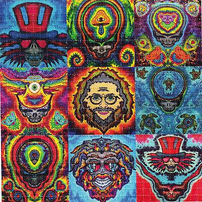Tie Dye Paper (JAMMIN TIE DYE GD Dead BLOTTER ART perforated sheet paper psychedelic)