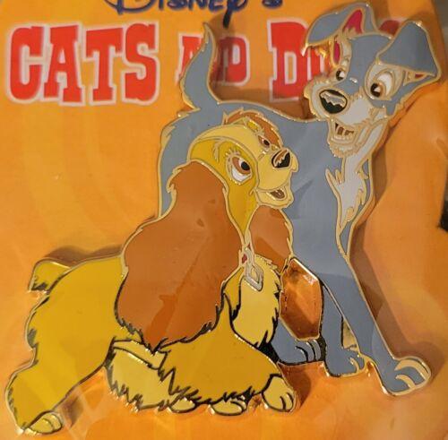 Disney Disneyland Paris DLRP Cats and Dogs Lady & The Tramp Pin