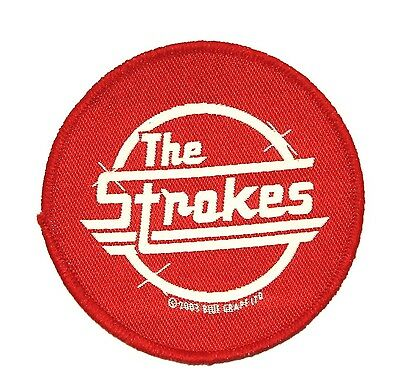 """The Strokes"" Band Logo Rock Music Apparel Merchandise Sew On Applique Patch"