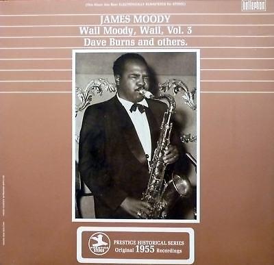 LP James Moody - Wail, Moody, Wail Vol. 3