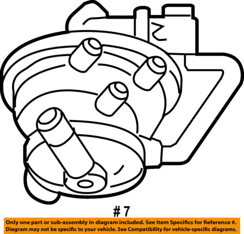 Dodge Chrysler Oem Durango Emission Vapor Canister Detection Pump