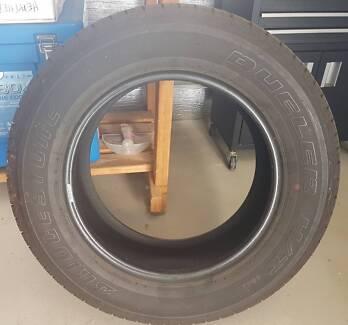 5 x Bridgestone Dueller H/T Tyres 265/60R18