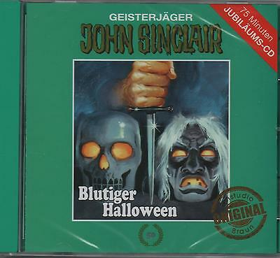 JOHN SINCLAIR - Teil 50 - Blutiger Halloween - Jubiläums CD - Tonstudio Braun ()
