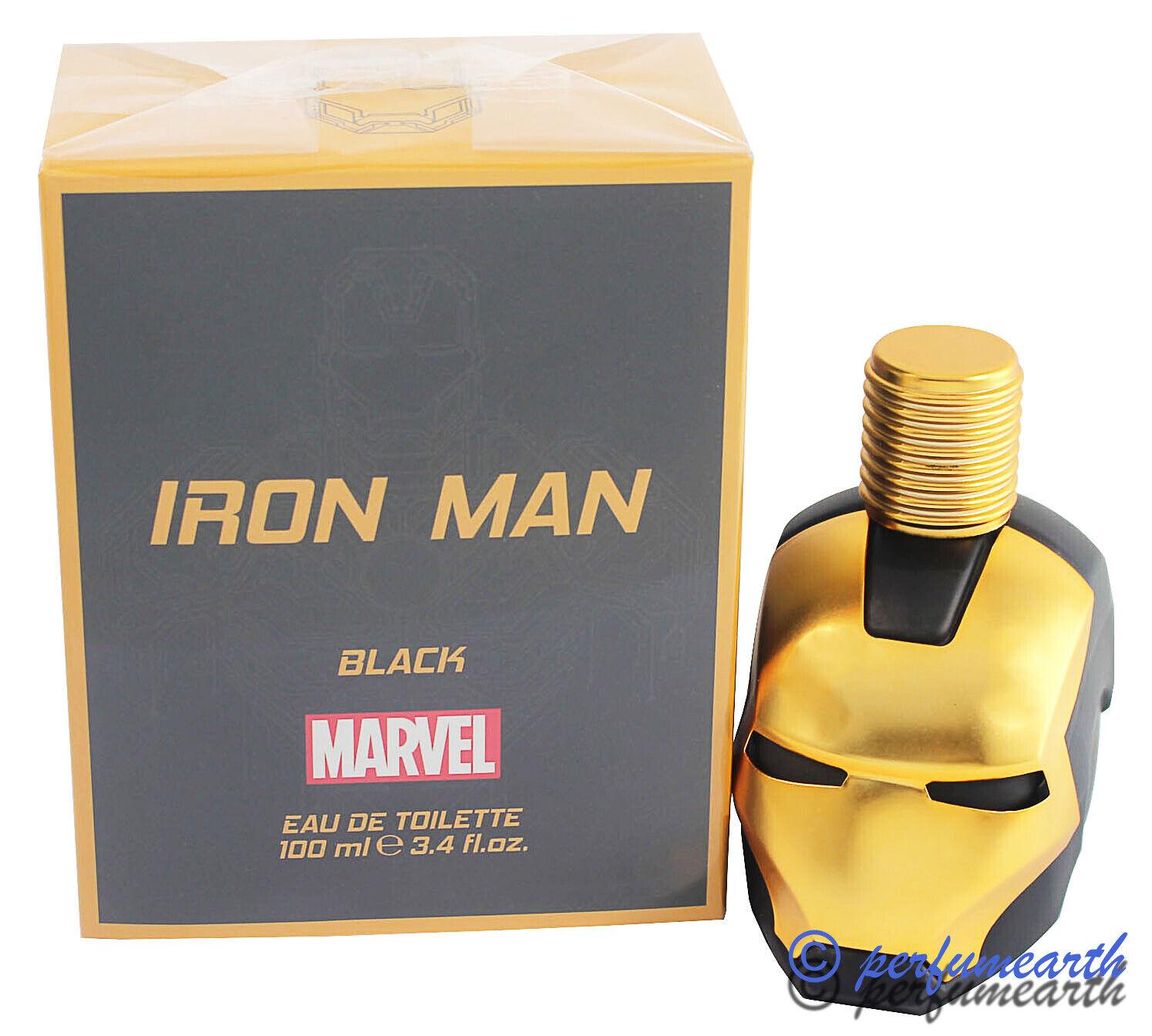 Iron Man Black by Marvel for Boys Edt 3.3 / 3.4 oz Spray  Ne