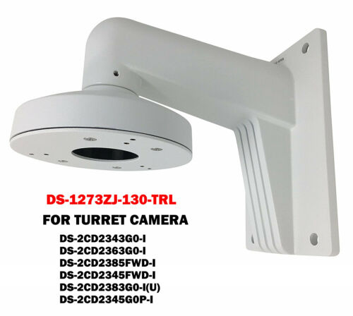 Hikvision DS-1273ZJ-130-TRL Wall Mounting Bracket Base Fit Turret Camera 2343/85